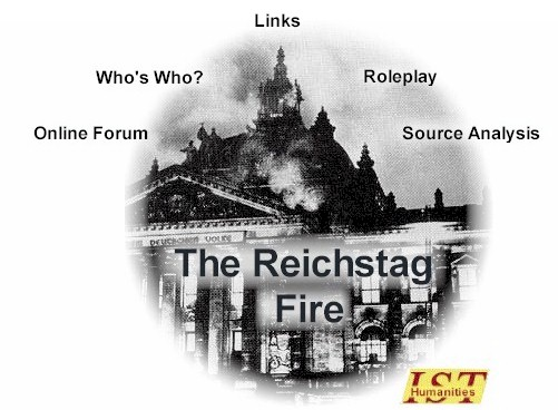 reichstag fire coursework Using all the sources and your own knowledge, examine the theory that the  reichstag fire was caused by marinus van der lubbe acting alone [8] using all  the.