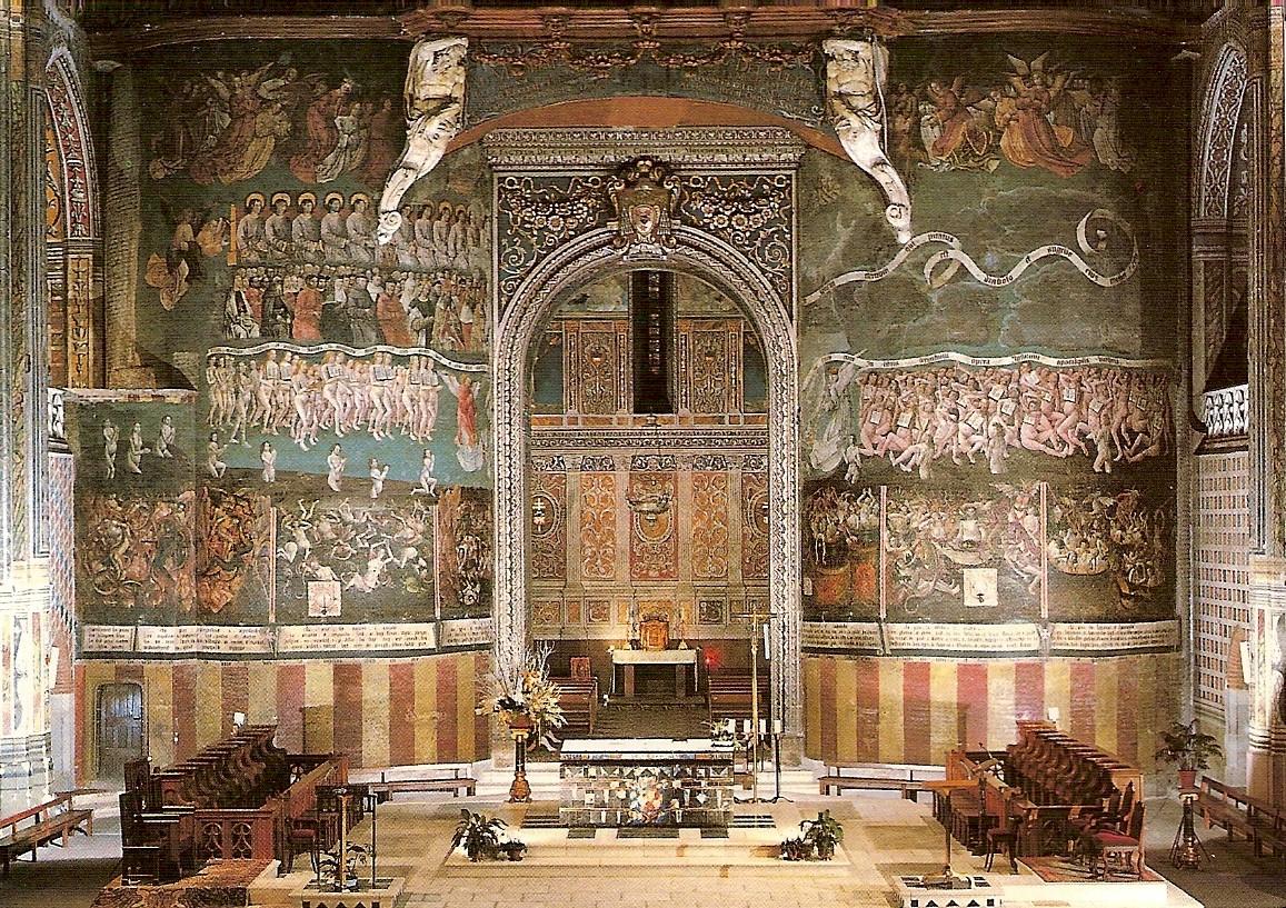 Изображение Судного дня, Кафедральный собор Альби - SAINTE-CÉCILE CATHEDRAL Кафедральный собор Альби